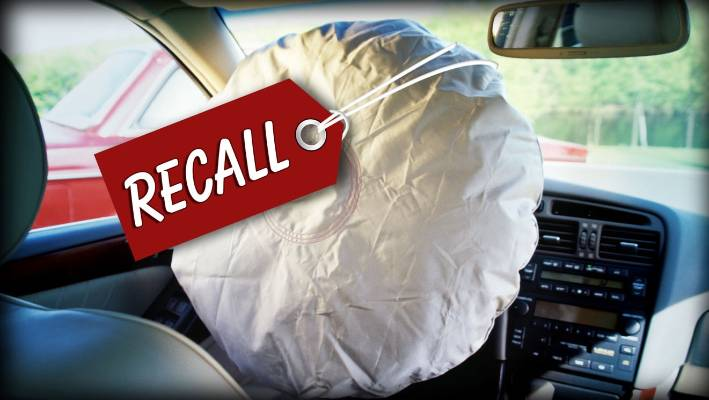 Wreckers Buy Takata Airbag Cars